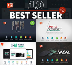 PPT模板-10套最畅销的业务/销售汇报模板:10 Best Seller Powerpoint Bundle