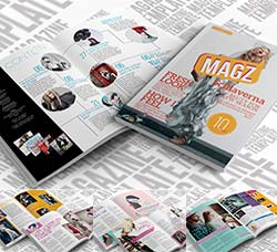 indesign模板-商业杂志(通用型):Indesign Magazine Template