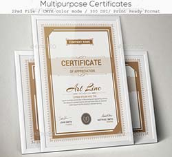 通用型证书模板:Multipurpose Certificates