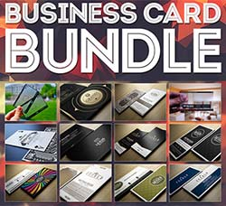 20个商业名片模板:One Dollar Business Card Bundle x20