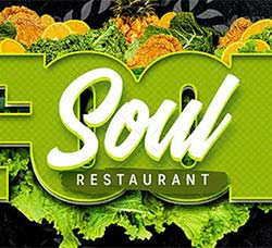 灵魂餐厅菜单PSD模板:Soul Food Restaurant Menu Flyer Template