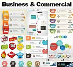 25套商业标签合集:Business and Commercial Elements of Design