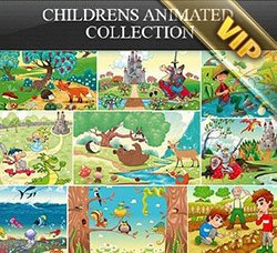 插画:Childrens Animated Collection