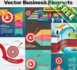信息数据图表:Vector Business Elements
