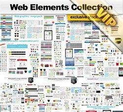 网页元素合集:Web Elements Collection
