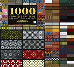 极品PS图案-无缝图案(1000个):1000 Seamless Web Patterns - Bundle