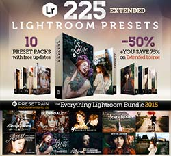 LR预设-经典色调(10套/225个):225 Lightroom Presets Bundle 2015