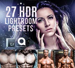 Lightroom预设-27个HDR色调:27 HDR Lightroom Presets
